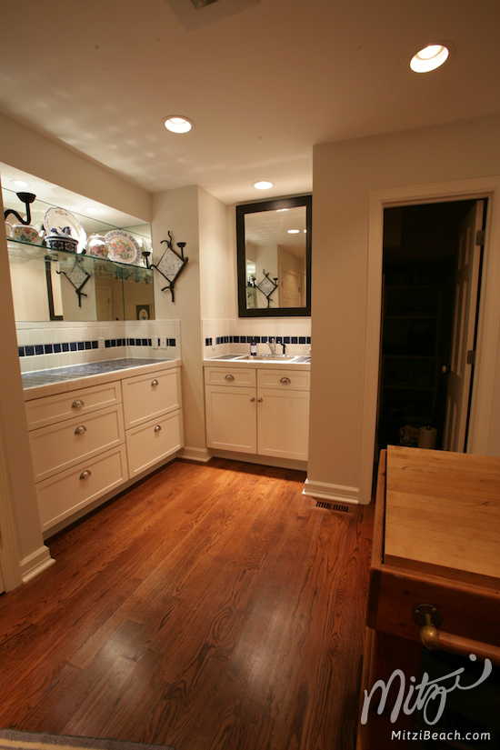 The mud room at my home, Cypress.