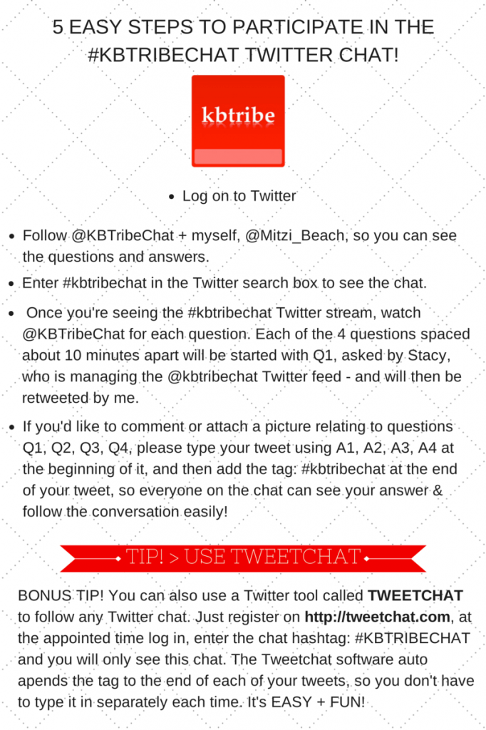 HOW TO PARTICIPATE IN A TWITTER CHATt