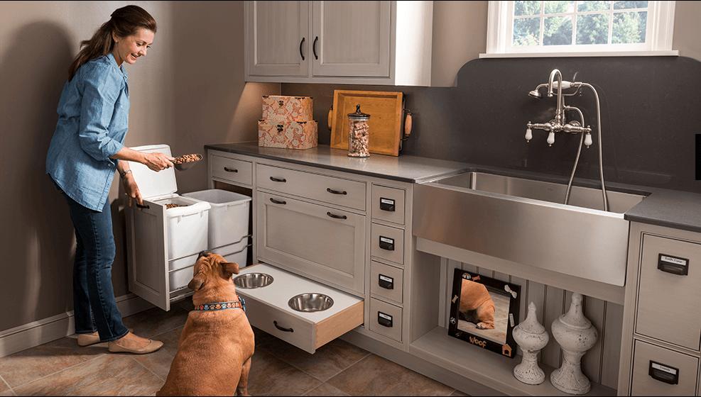 Wood-Mode Pet Parlor