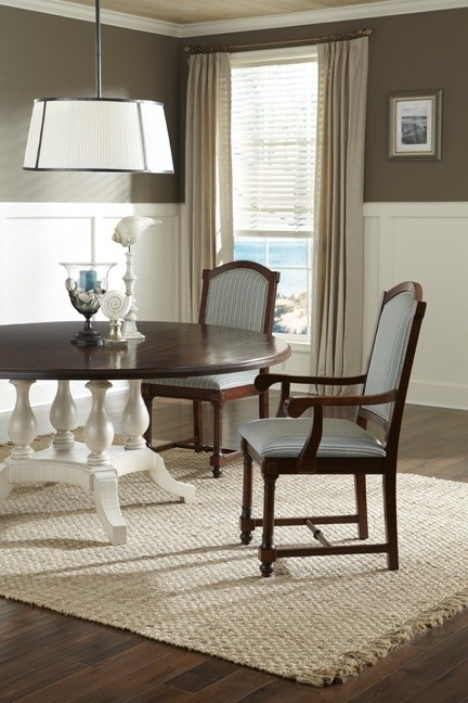 Four Pedestal Table