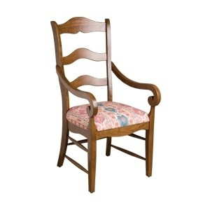 Alton Ladderback Arm Chair