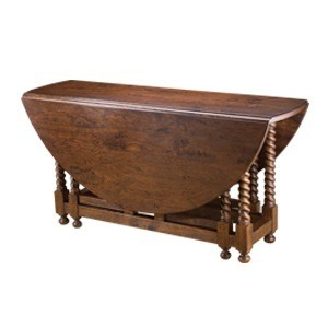 Barley Twist Gate Leg Table