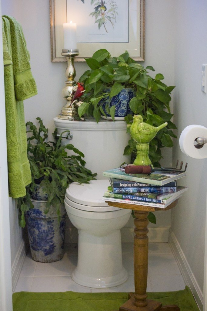 Just a little green potty satire