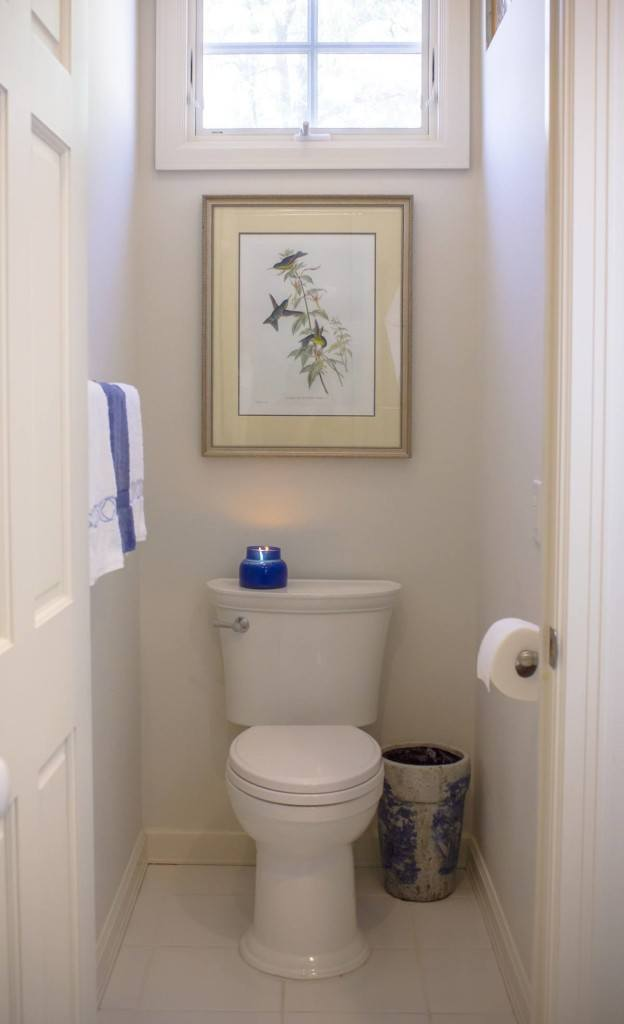 The VorMax toilet in its Cypress home